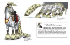Horse creature character